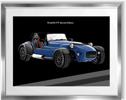 Picture of Westfield FW Special Edition Wall Frame Art Print