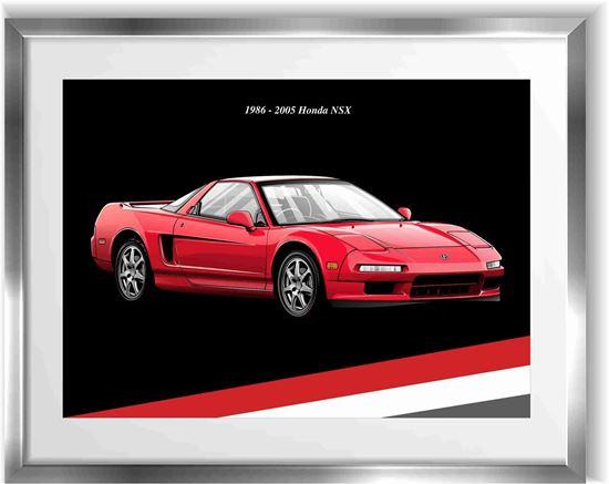 Picture of Honda NSX  Wall Frame Art Print