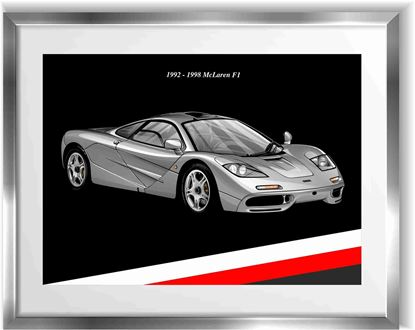 Picture of McLaren F1 Wall Frame Art Print