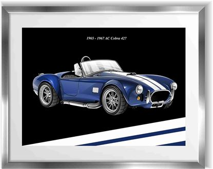 Picture of AC Cobra Wall Frame Art Print