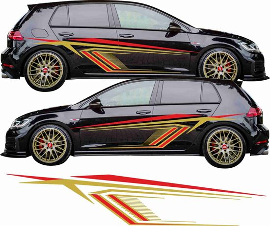 Picture of Golf MK7 side Graphics / Stickers