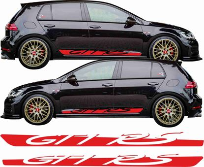 """Picture of Golf MK7 """"GTI RS"""" side Stripes  / Stickers"""
