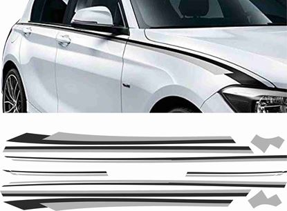 Picture of BMW 1 Series F20 / F21 side Stripes / Stickers