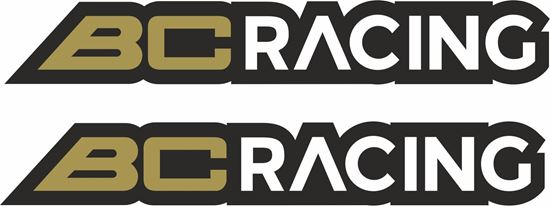 "Picture of ""BC Racing"" Decals / Stickers"
