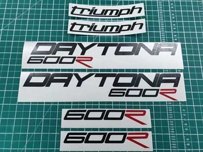 Picture of Triumph Daytona 600R  Decals / Stickers kit