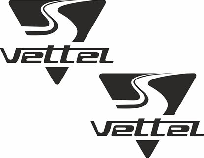 Picture of Sebastian Vettel General Panel  Decals / Stickers
