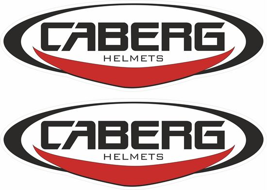 """Picture of """"Caberg Helmets"""" Decals / Stickers"""