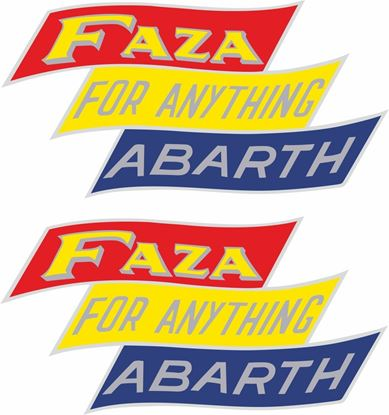 Picture of Faza Stickers / Decals