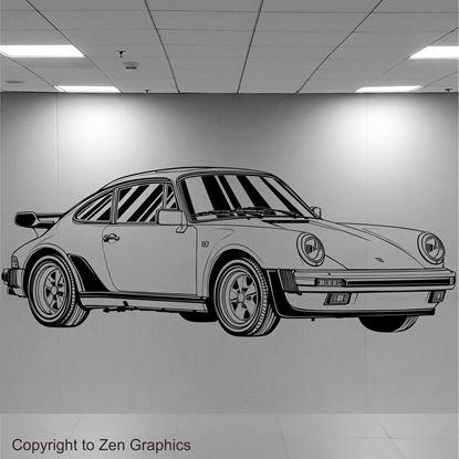 Picture of Porsche 930 Turbo Wall Art sticker