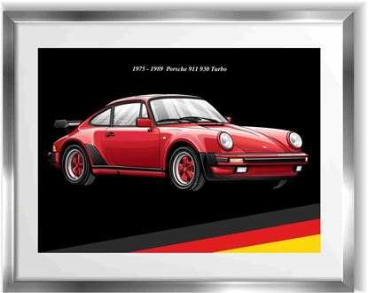 Picture of Porsche 930 Turbo Wall Frame Art Print