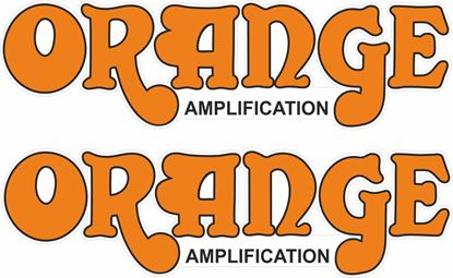Picture of Orange Amplification Decals / Stickers
