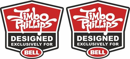 Picture of Jimbo Philips Bell Track and street race sponsor Decals / Stickers