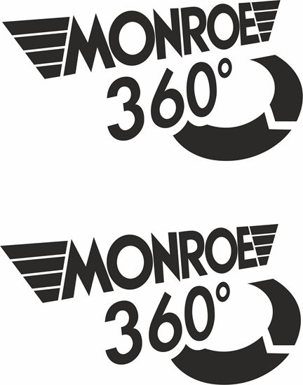 """Picture of """"Monroe 360""""  Decals / Stickers"""