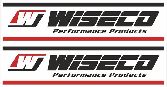 "Picture of ""Wiseco Performance Products""  Decals / Stickers"