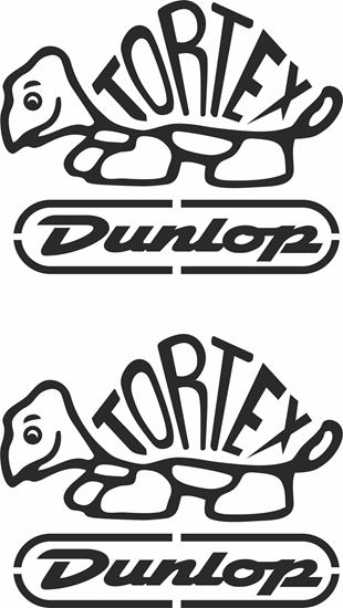 "Picture of ""Tortex Dunlop"" Decals / Stickers"