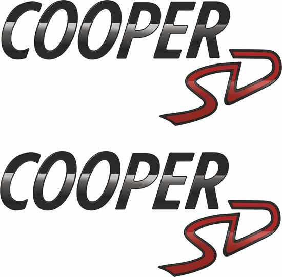 Picture of Mini Cooper SD Decals / Stickers