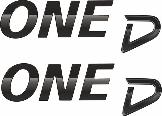 Picture of Mini One D Decals / Stickers