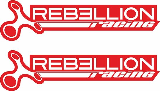"""Picture of """"Rebellion Racing"""" Decals / Stickers"""