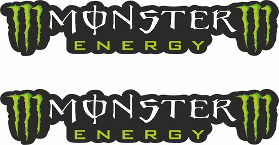 Picture of Monster Racing Decals / Stickers