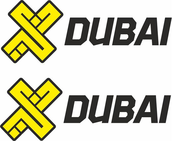 """Picture of """"Dubai""""  Decals / Stickers"""