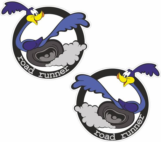 Picture of Road Runner Decals / Stickers
