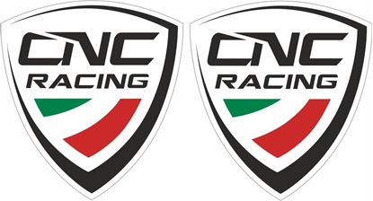 Picture of CNC Racing Track and street race sponsor Decals / Stickers