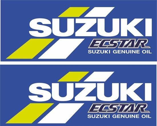 """Picture of """"Suzuki Ecstar """" Decals / Stickers"""