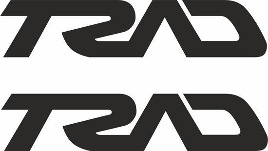 """Picture of """"Trad"""" Track and street race sponsor logo"""