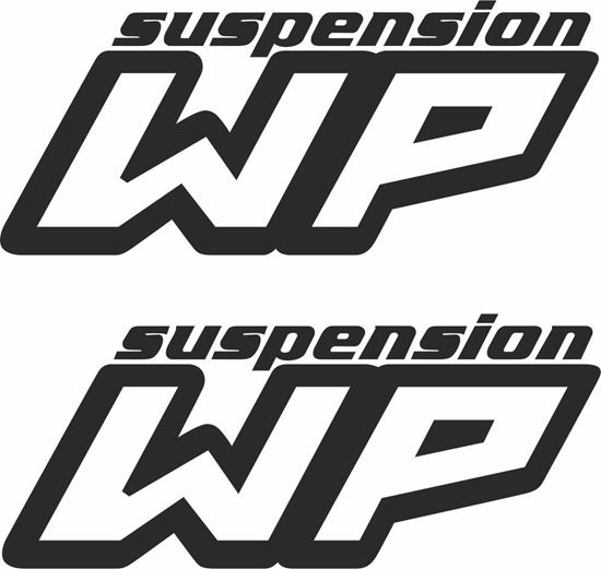 """Picture of """"WP Suspension"""" general panel  Decals / Stickers"""