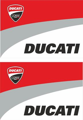 Picture of Ducati Corse Decals / Stickers