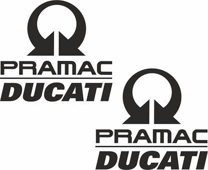 Picture of Ducati Pramac Decals / Stickers