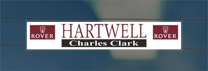 Picture of Hartwell Charles Clark Dealer rear glass Sticker