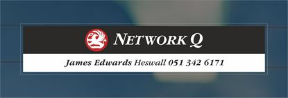 Picture of James Edwards - Heswall Dealer rear glass Sticker