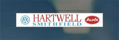 Picture of Hartwell - Smithfield Dealer rear glass Sticker
