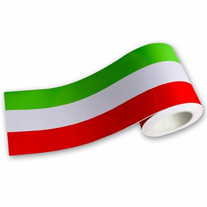 Picture of Italian Tri Colour Stripe