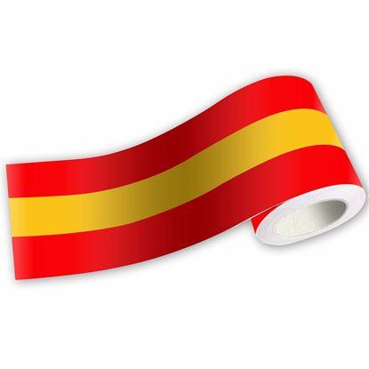 Picture of Spanish Tri Colour Stripe