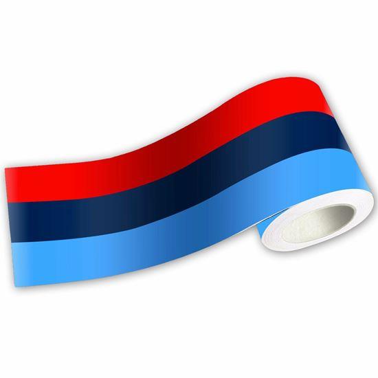Picture of M Sport Tri Colour Stripe