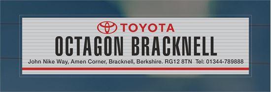 Picture of Octagon Bracknell   - Berkshire Dealer rear glass Sticker