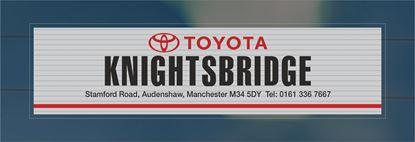 Picture of Knightsbridge - Manchester Dealer rear glass Sticker