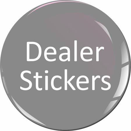 Picture for category Toyota Dealer rear Glass Stickers