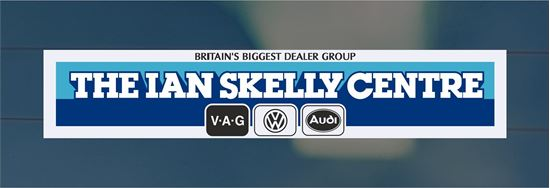 Picture of The Ian Skelly Centre Dealer rear glass Sticker