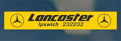 Picture of Lancaster - Ipswich Dealer rear glass Sticker