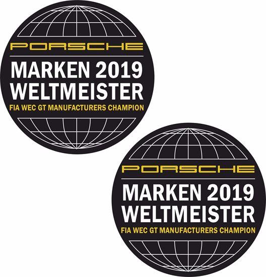 Picture of Marken Weltmeister 2019 Decals /  Stickers