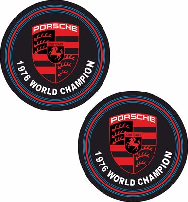 Picture of 1976 World Champion Decals /Stickers