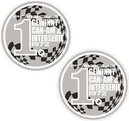 Picture of Gewinnt Can-Am & Interserie 1972 Decals /  Stickers