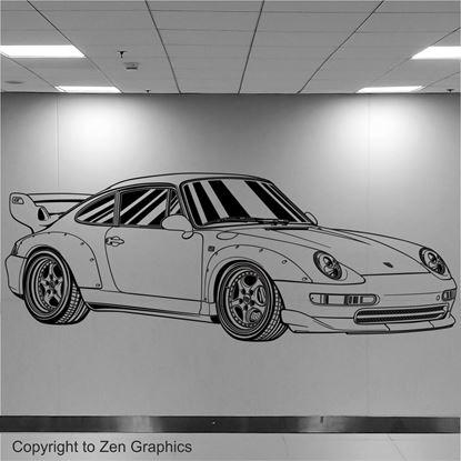 Picture of Porsche 993 GT2 Wall Art sticker