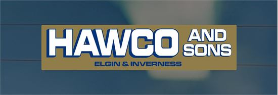 Picture of Hawco and Sons - Elgin Inverness Dealer rear glass Sticker