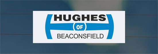 Picture of Hughes of Beaconsfield Dealer rear glass Sticker