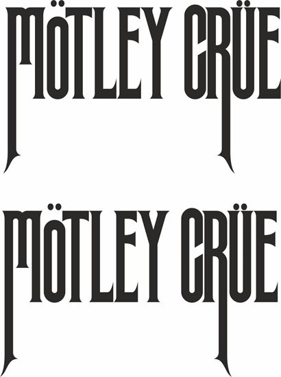 Picture of Motley Crue Decals  / Stickers