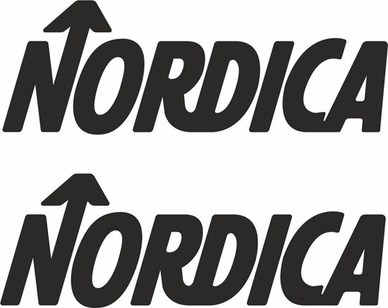 """Picture of """"Nordica"""" Track and street race sponsor logo"""